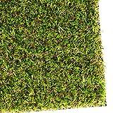 casa pura Gazon synthétique Oxford   pelouse synthétique pour terrasse, Balcon etc.   Tailles au mètre   Poids 1800g/m² - stabilisé UV Selon DIN 53387   200x200cm