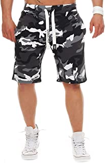 Finchman Hommes Coton Sweat Short Shorts Bermuda Sweatpant