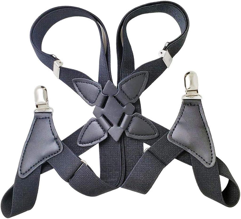 Harilla Men's Adjustable Suspenders Clothing Accessories for Costumes