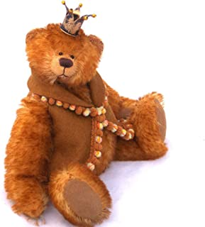 Henry - Teddy Bear Gold Tipped Steiff Schulte Miniature Mohair Artist Collectable 6 1/2 inches