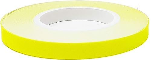 Bandes Wheel Stripes Fluorescents pour les Jantes des Motos, Jaune, 5 mm x 6 mt