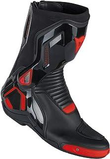 Dainese Stiefel Course D1 Out, schwarz/rot fluo, Größe 44