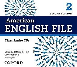 American English File 2E 2 Class Audio CDs