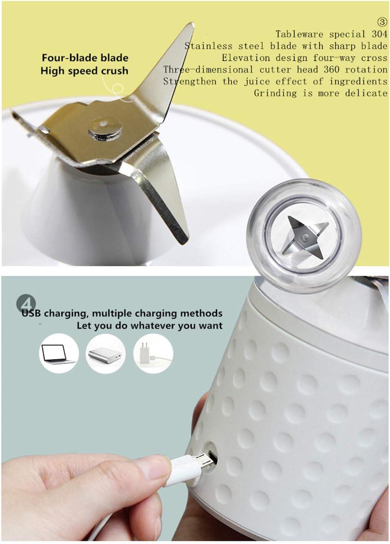Juice Cup - Mini exprimidor eléctrico portátil USB recargable Azul