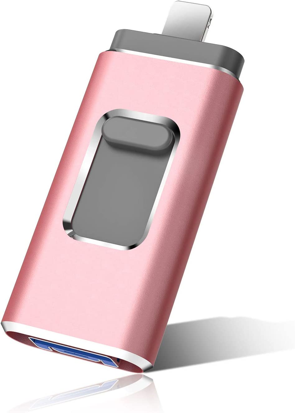 Flash Drive for Phone Photo Stick 1000GB Memory Stick USB 3.0 Flash Drive Thumb Drive for Phone Pad Android and Computers (1TB, Pink)