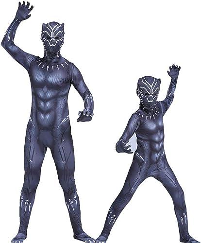 ventas en línea de venta Ropa Ropa Ropa de pantera negra Marvel Heroes Avengers Adulto Cosplay Pantera Flaño Mono Disfraz de Halloween Niño adulto  80% de descuento