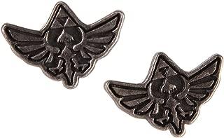 Legend of Zelda Hylian Crest Stud Earrings