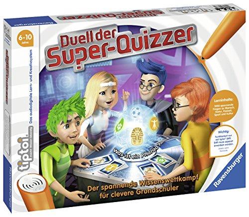 Duell der Super-Quizzer: Der spannende Wissenswettkampf für clevere Grundschüler