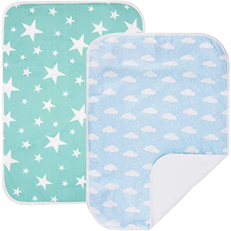 27.5 x 33.5 Mattress Pad Cover for Children or Adults 24 Rocket Medium CuteOn Waterproof Diaper Changing Pad Portable /& Breathable Underpads