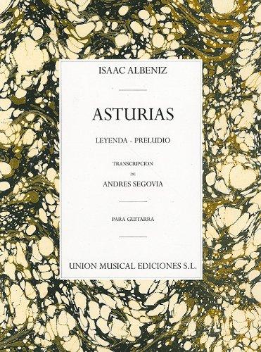 Albeniz Asturias Preludio (Segovia) Guitar: Leyenda * Preludio