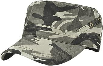 Demarkt 1x Hombres Mujeres Ej/ército Caza Visera Sombrero Sol al Aire Libre Deporte Sombrero de sol Gorra de viaje Cap de pesca