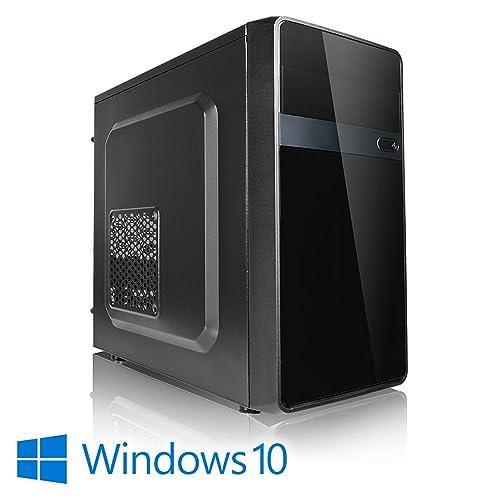 Megaport PC Intel Core i5-8400 8. génération (Sixcore) 6x 2,80GHz • 8 Go DDR4 2400 • 1000Go disque dur • Intel UHD Graphics 630 • Windows 10 • GigabitLAN • DVD graveur office PC computer desktop PC home multimedia pc