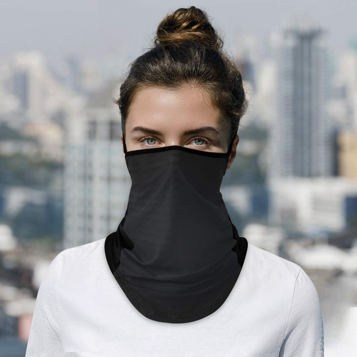 Rare DAOXIANG Popular popular Black Neck Gaiter Face Cloth Reusable Masks Mask