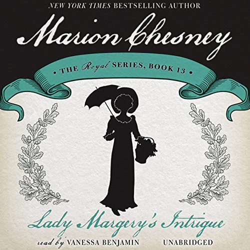 Lady Margery's Intrigue audiobook cover art
