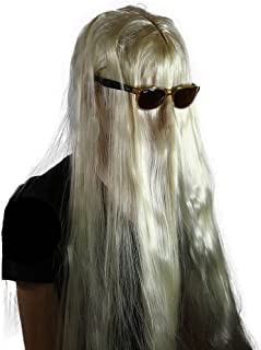 Men's Cousin it Wig (Blonde) One Size fits all