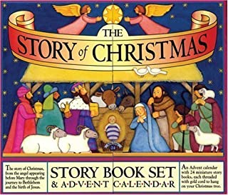 The Story of Christmas: Story Book Set & Advent Calendar by Mary Packard (Nov 7 2008)