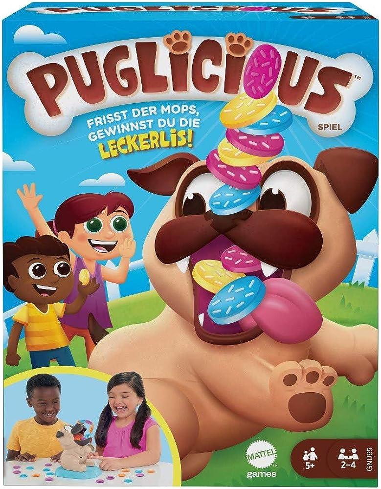Mattel games,puglicious il cane affamato mangia dolcetti GND65