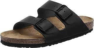 Birkenstock Arizona Leather Large, Mixed Open Toe Sandals