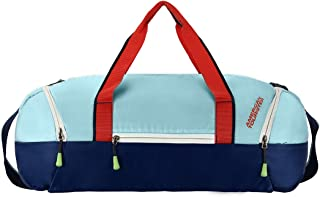 American Tourister Zeal Polyester 53 cms Multi-Colour Gym Duffle Bag (FQ7 (0) 31 001)