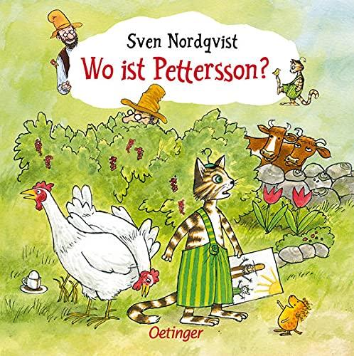 Pettersson und Findus. Wo ist Pettersson?: ohne Puzzle