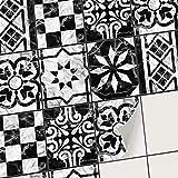 creatisto Autocollant Sticker Carrelage - Feuille adhésif I Carrelage Adhésif mosaique - Revêtement Mural Salle de Bain et Cuisine I Home décoration (20x25 cm I 6 - Pièces)