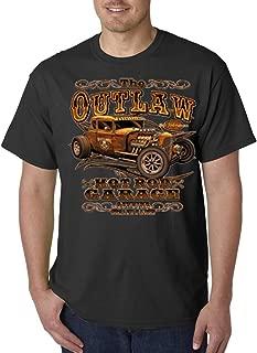 A2S Outlaw Hot Rod Garage Genuine Stolen Parts Cars Biker Classic T-Shirt S-5XL