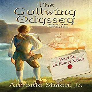 The Gullwing Odyssey audiobook cover art