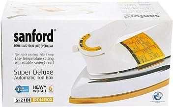 Sanford Heavy Duty Iron,White, Sf21di(3 Pin)