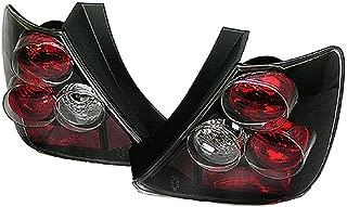 Black Tail Lights Brake Lamp for 02-03 Honda Civic 3DR EP3 Si VTEC K20 Hatchback JDM