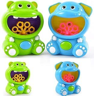 liwei18 Children's Electric Bubble Blowing Machine Automatic Bubble Toys Bubbles
