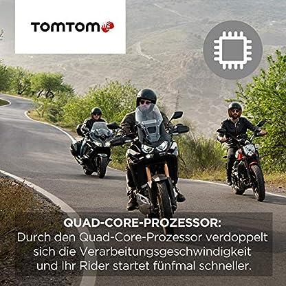 TomTom-Motorrad-Navi-Rider-500-43-Zoll-kurvige-und-bergige-Strecken-speziell-fuer-Motorraeder-Stauvermeidung-dank-TomTom-Traffic