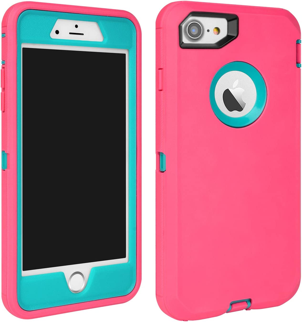 MAXCURY iPhone 7 Defender Case, iPhone 8 Case, Heavy Duty Shockproof Series Case for iPhone 7/8 (4.7