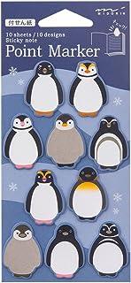 ミドリ 付せん紙 ポイントS ペンギン柄 11388006