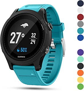 Ysang for Garmin Forerunner 935 GPS Accessory Watch Band,  22mm Width Soft Silicone Quick Install Sport Watch Strap Bracelet Wristband for Garmin Forerunner 935 GPS Smart Watch