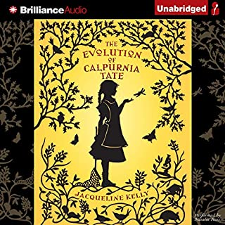 The Evolution of Calpurnia Tate audiobook cover art