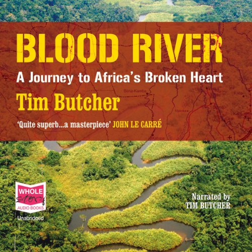 Blood River audiobook cover art