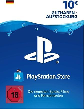 PSN Card-Aufstockung   10 EUR   PS4, PS3, PS Vita Playstation Network Download Code - deutsches Konto