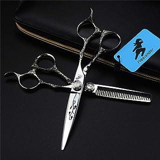Professional Hair Snijden Schaar 6,0 Inch Japan 6CR RVS Set, Hoge Kwaliteit Sharp Kapper Schaar Voor Salon En Familie Voor...