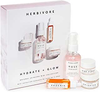 Herbivore Botanicals - HYDRATE + GLOW Natural Skincare Mini Collection