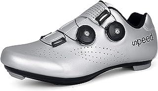 Heren Racefiets Fietsschoenen Fietsen Schoenen met Roterende Gesp voor Mannen/Vrouwen Quick Lock Cleat Outoor Fiets Schoen