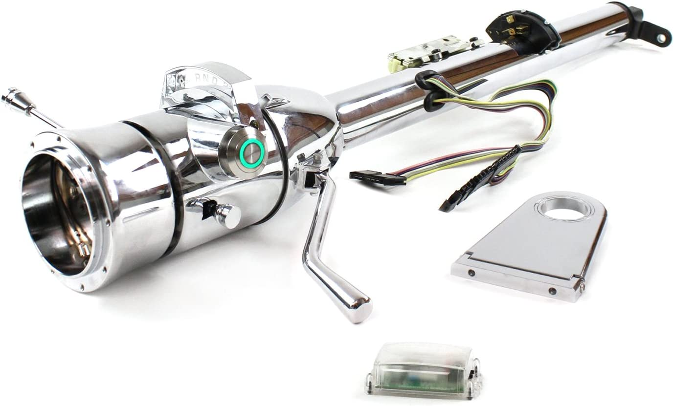 Helix 704180 Steering Column Chrome - Dro D O Limited price Max 56% OFF Shift 5.5
