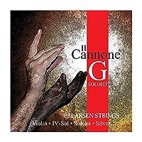 LARSEN Il CONNONE SOLOIST Cuerda 4ェ G (Sol) Medium Violin Plata