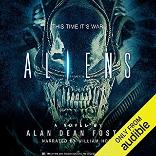 Aliens audiobook cover art
