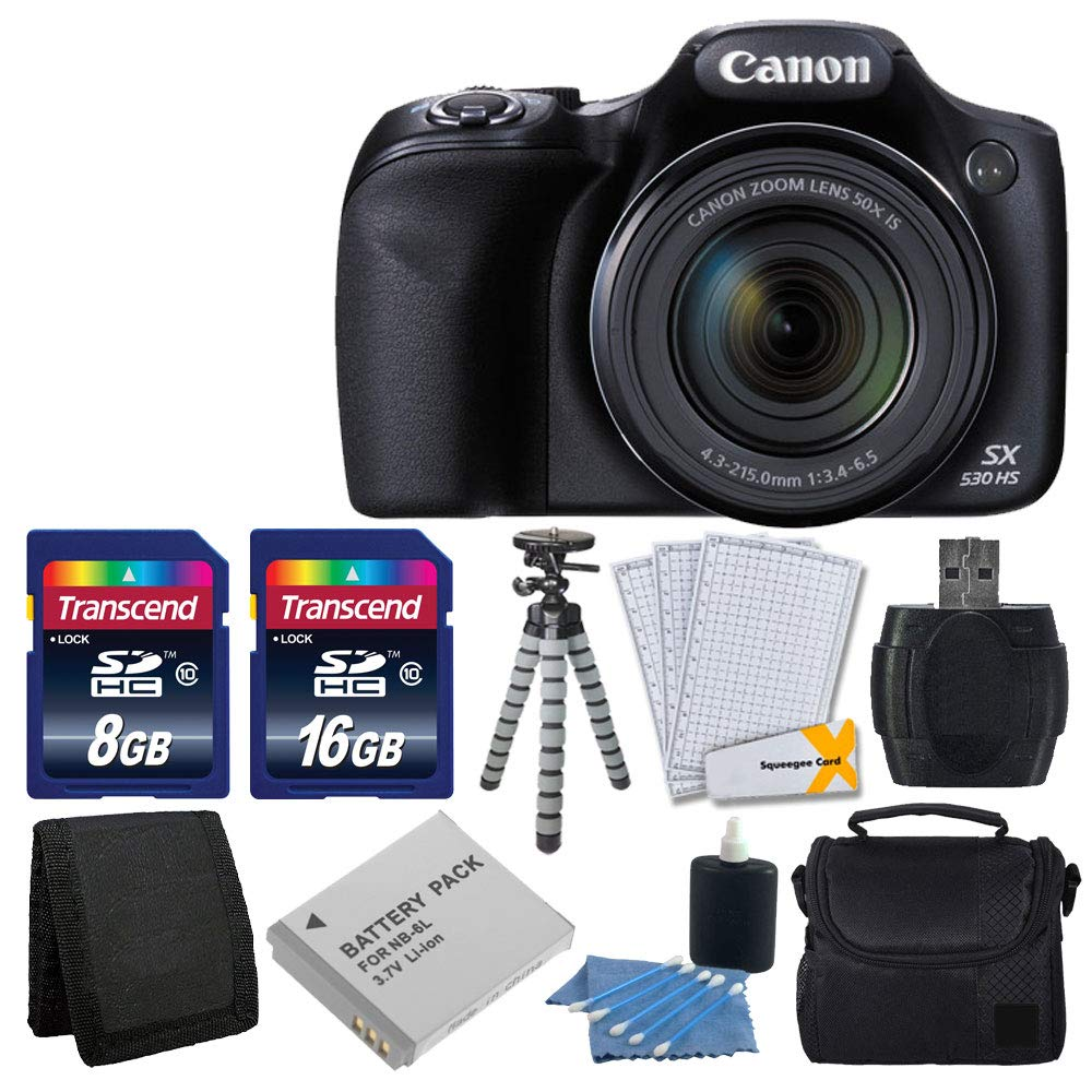 Canon PowerShot Stabilized Complete Accessory