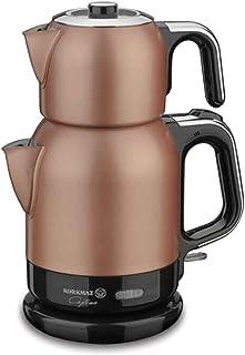 Korkmaz A331-02 Çaytema Elektrikli Çay Makinesi Rosagold