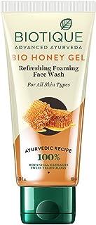 Biotique Bio Honey Gel Refreshing Foaming Face Wash for All Skin Types, 100ml