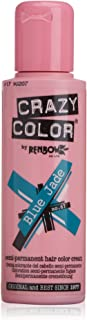 Crazy Color Renbow Semi-Permanent Hair Colour Cream Dye 100ml-Blue Jade