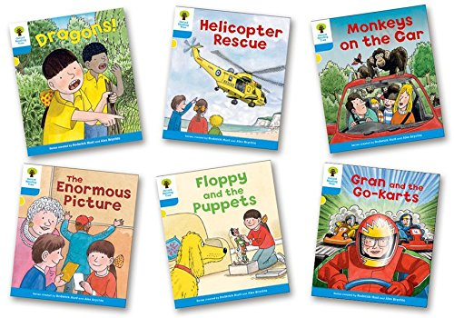 Oxford Reading Tree Biff, Chip and Kipper Level 3. Decode and Develop: Mixed Pack of 6