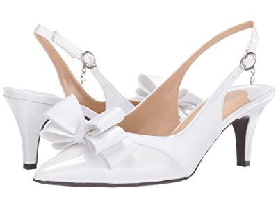 J. Renee Gabino (White/White) High Heels