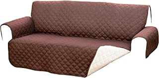 comprar comparacion Sofa Reversible Double Quilt Fabric for Sofas up to 140 cm Colour Protects from Pets, Dust and stains